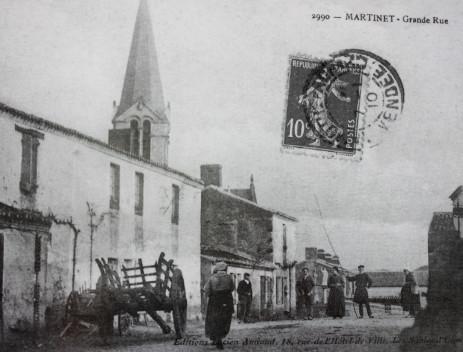 Carte postale d'avant la guerre 14-18. Atelier de Charron
